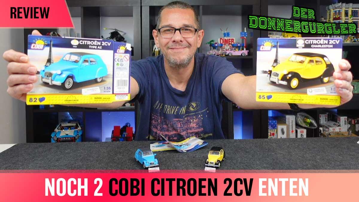 Noch zwei Cobi- Citroën 2CV Versionen
