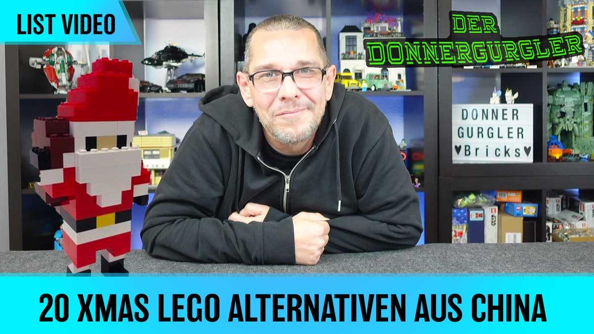20 Weihnachtliche Lego Alternativen aus China