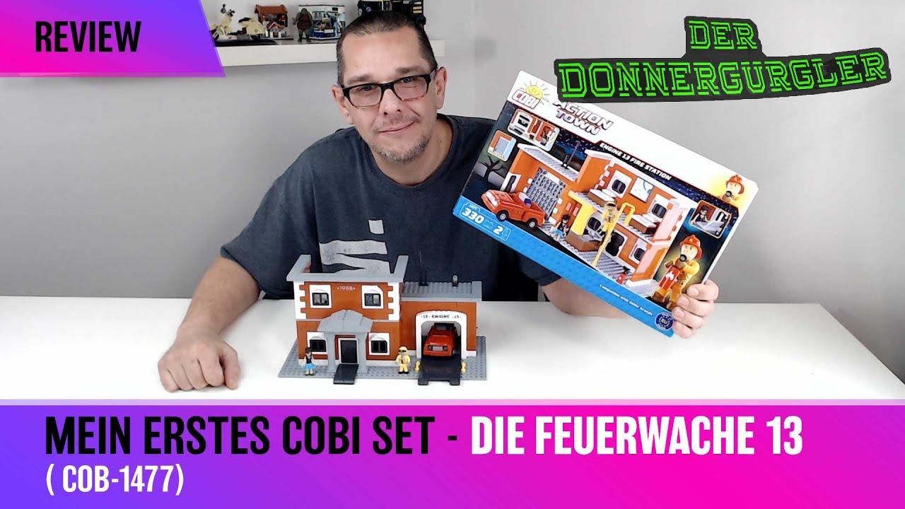 Mein 1. Cobi Set - Die Action Town Feuerwache 13 - COB-1477