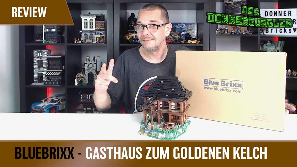 BlueBrixx Special Gasthaus zum Goldenen Kelch - Tolles Fachwerkhaus!