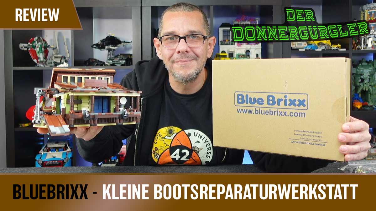 Bluebrixx Special - kleine Bootsreparaturwerkstatt (103486)