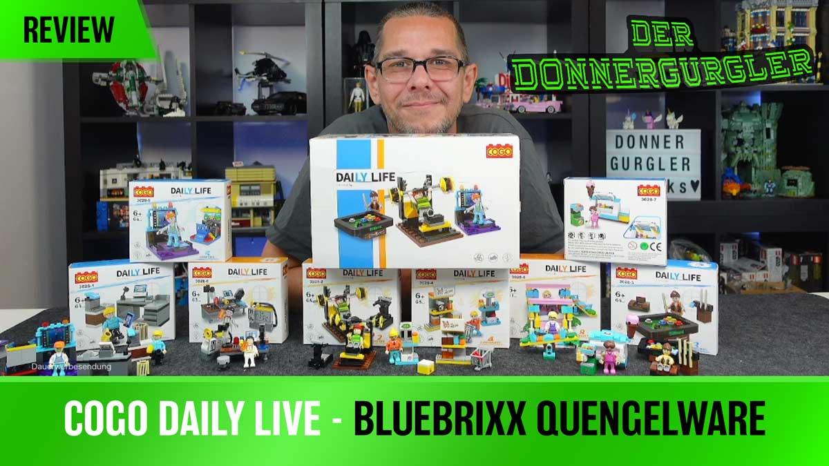 Cogo Daily Live - Bluebrixx Quängelware 3028-1