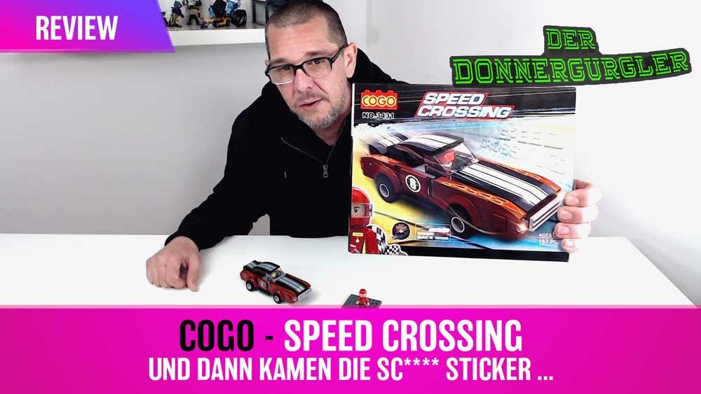 Cogo Speed Crossing mit pull back Motor