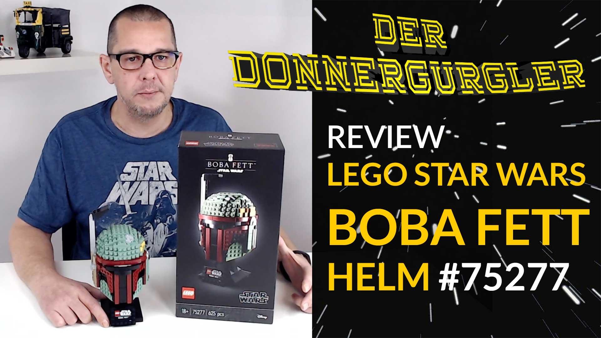 Lego Star Wars Boba Fett Helm #75277 Review - Rest in Peace Mr. Jamie Bullock!