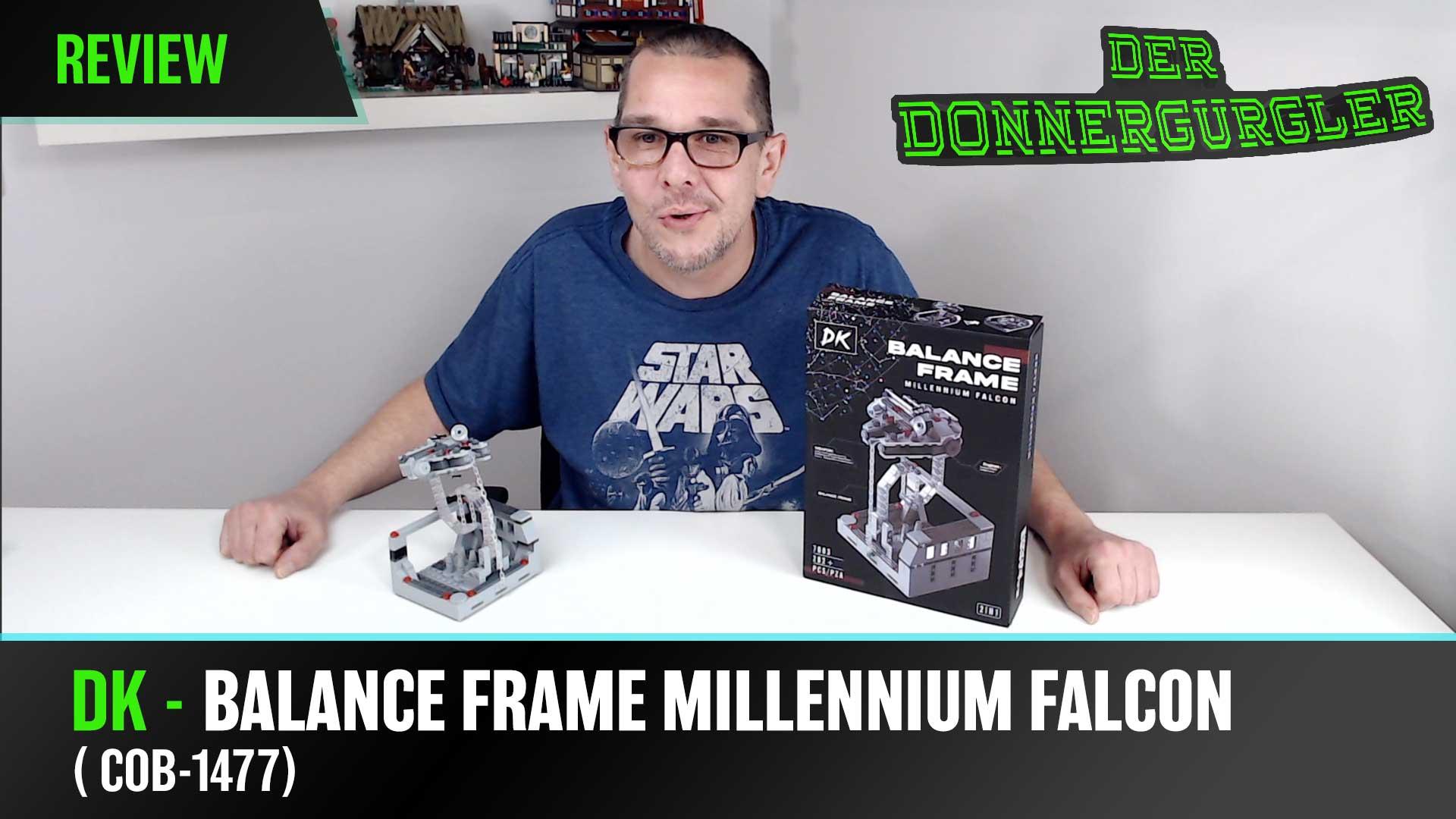 DK - Balance Frame Millennium Falcon 2 in 1 (7003) Klemmbausteine Diorama