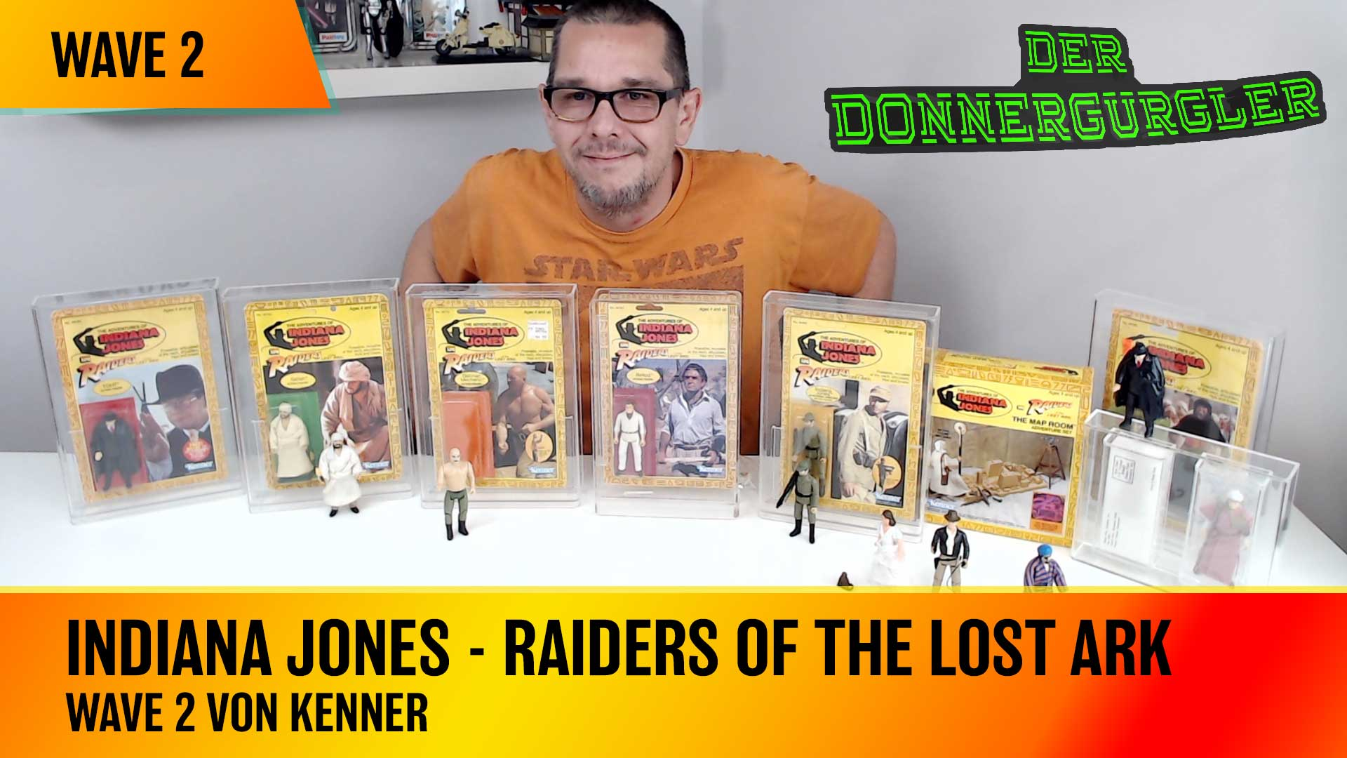Wave 2 - Indiana Jones - Raiders of the Lost Ark von Kenner