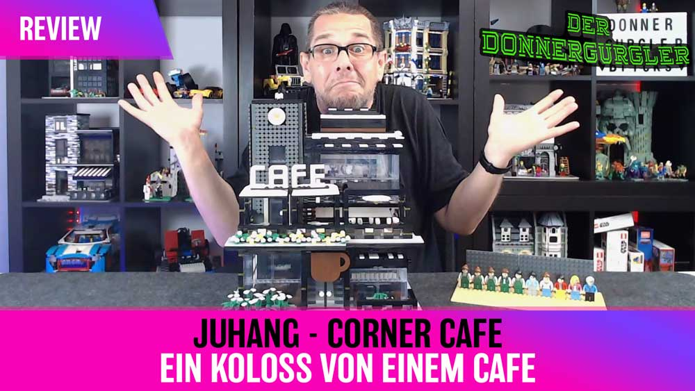Juhang - Corner Cafe - Ein Koloss von einem Cafe!