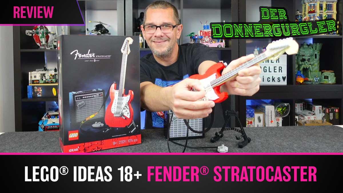 LEGO® Ideas 18+ Fender® Stratocaster™ (21329)