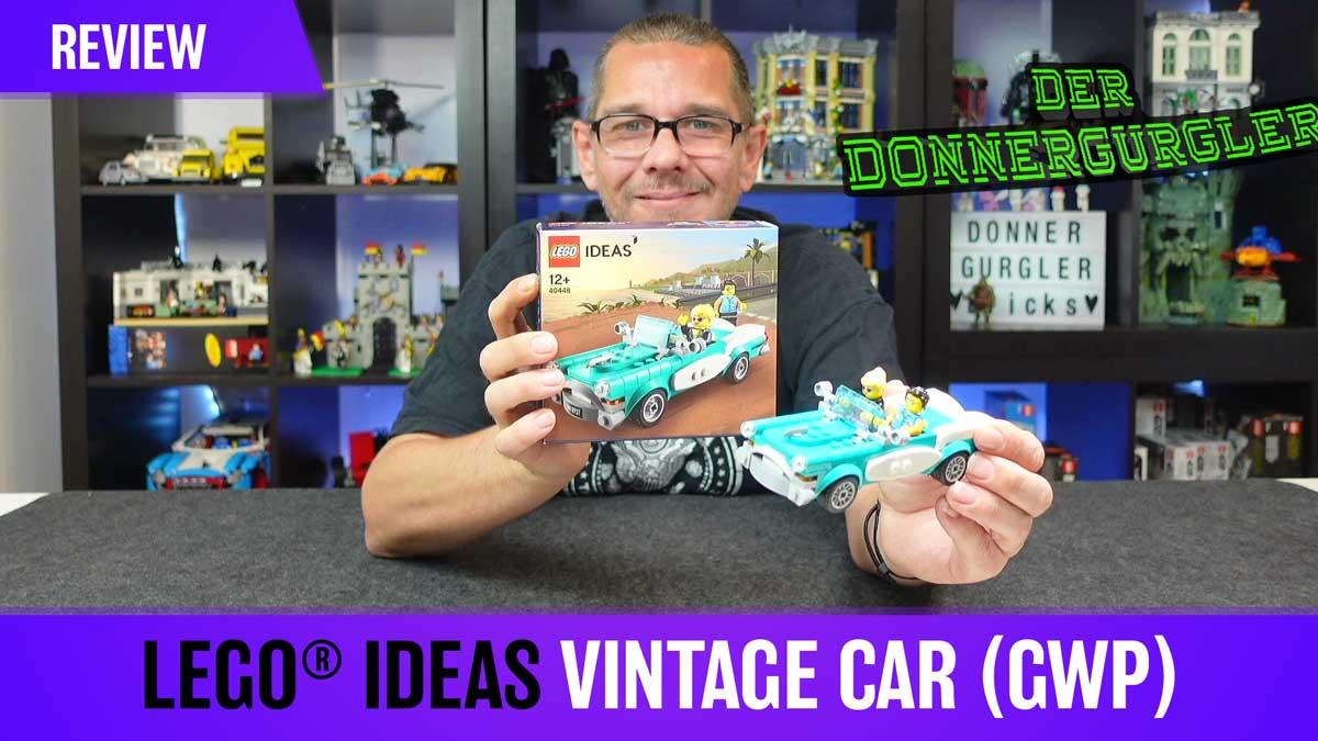 LEGO® Ideas Vintage Car (GWP - 40448)