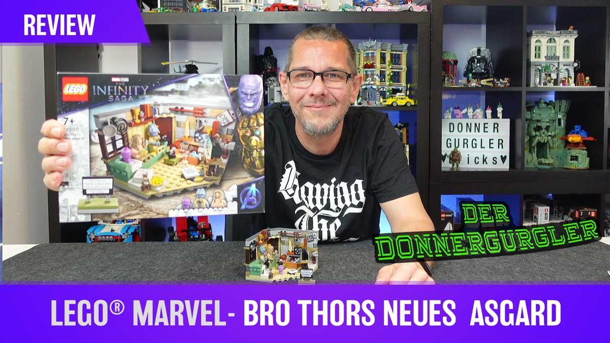 LEGO® Marvel - Bro Thors neues  Asgard (76200) oder Bier und Spiele :-)