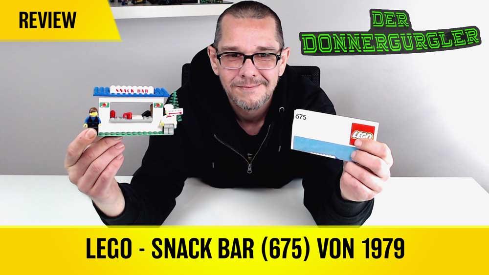 Lego 675 Snack Bar von 1979