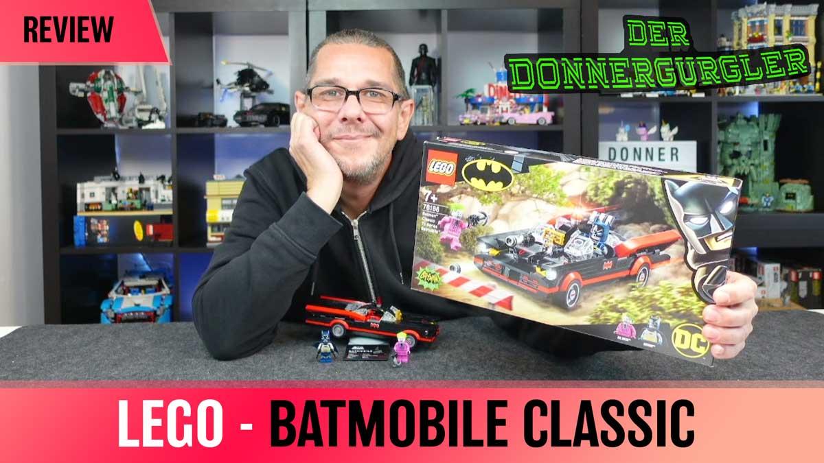 LEGO® Batmobile™ aus dem TV-Klassiker - Batman