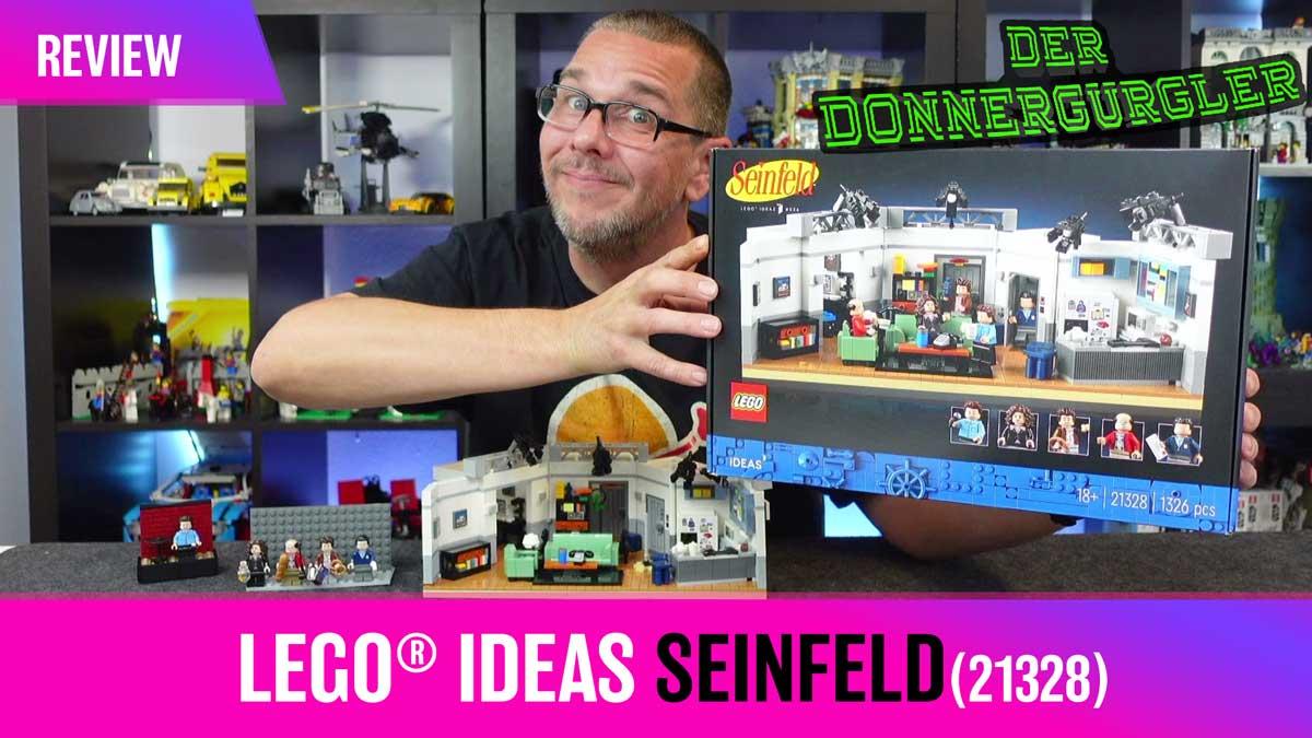 LEGO® Ideas Seinfeld - giddy up (21328)