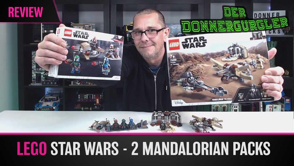 LEGO Star Wars - Ärger auf Tatooine und Mandalorianer Battlepack