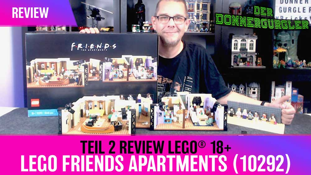 Review LEGO® Lego Friends Apartments (10292)