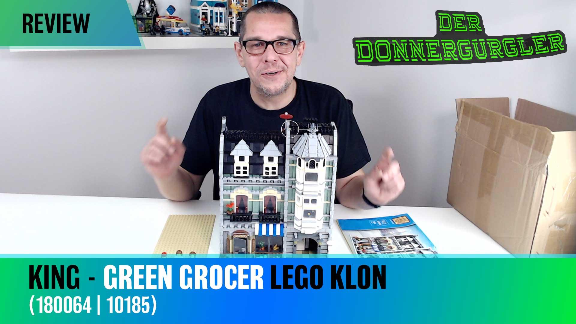 Lion King Green Grocer 180064 - Lego Modular Building Klon 10185
