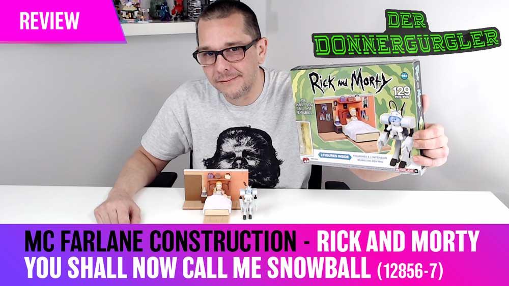 Das MC Farlane Construction Set 12856-7 Rick and Morty You Shall now Call me Snowball