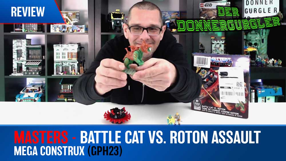 Masters of the Universe -Rottor and Battle Cat draft