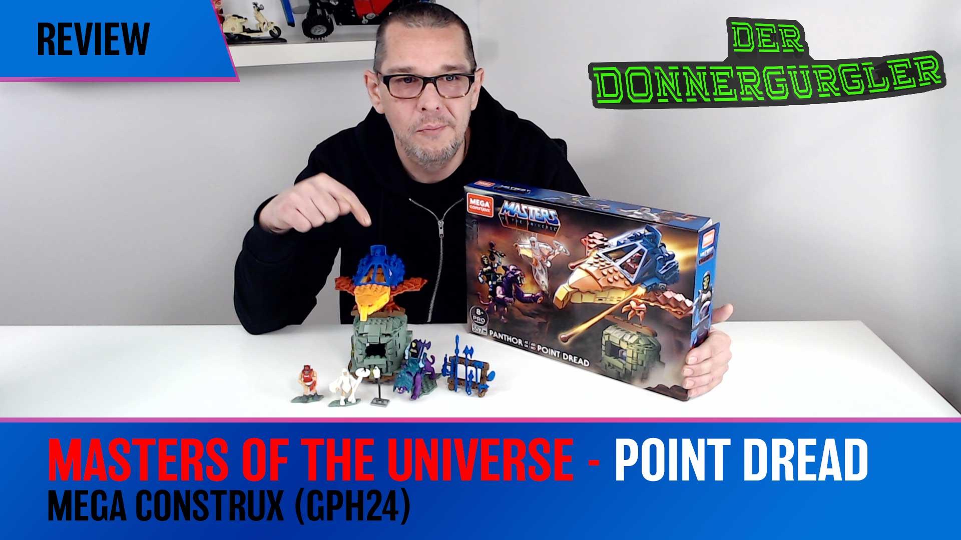 Masters of The Universe - Point Dread von Mega Construx (Mega GPH24)