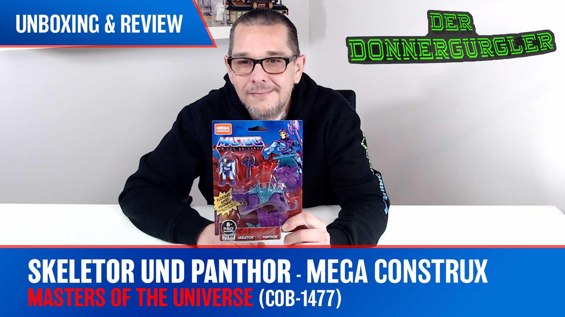 MOTU - Mega Construx Skeletor und Panthor (Mega GVY17)