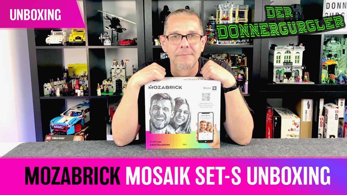 Mozabrick Mosaik Set-S unboxing