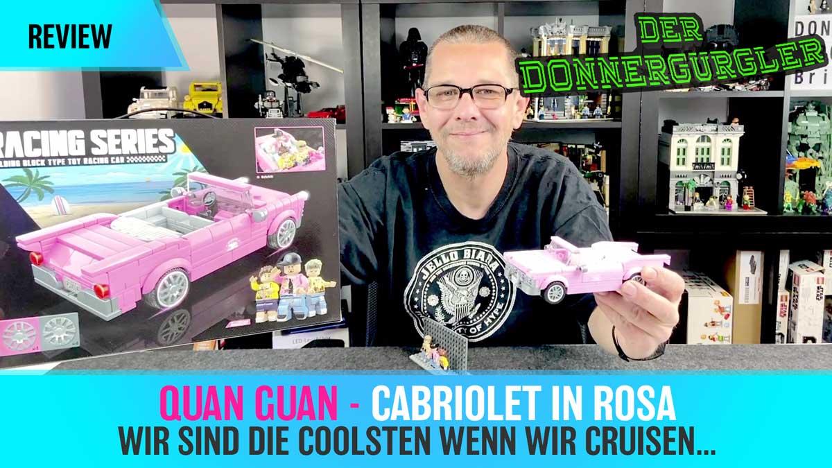 Quan Guan - Cabriolet in rosa aus der Racing Serie (QUA-100141)