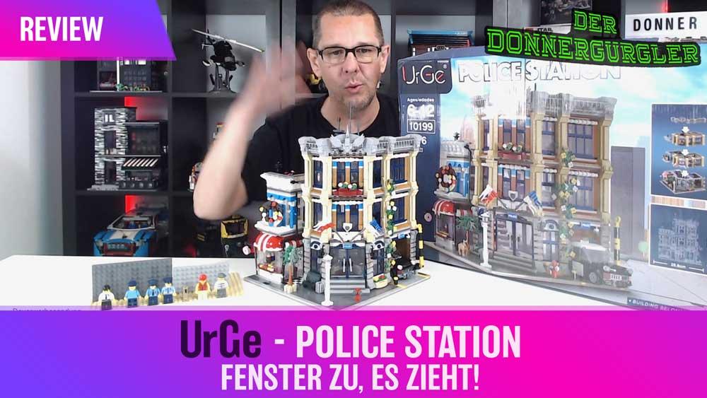 UrGe - Police Station - Fenster zu, es zieht!