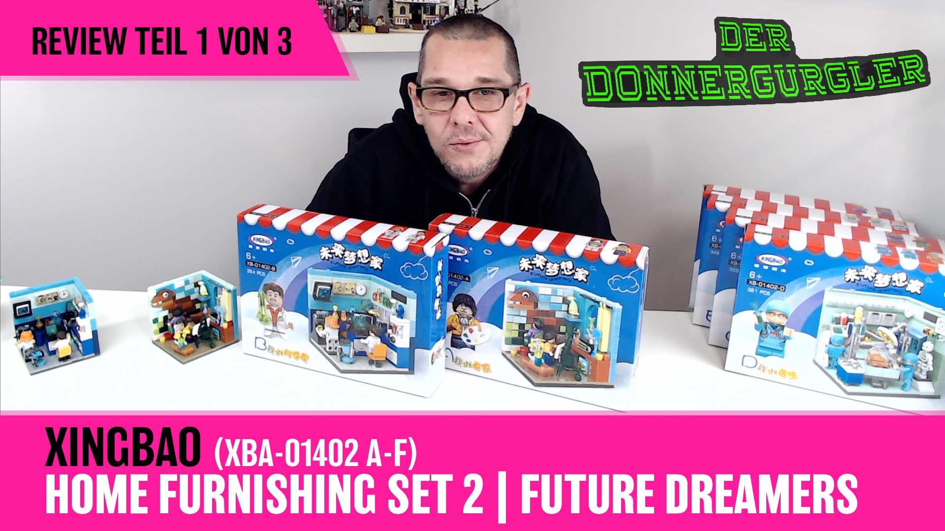 Xingbao Home Furnishing Set 2 - Future Dreamers Kompletset XBA-01402A-F Teil 1v3