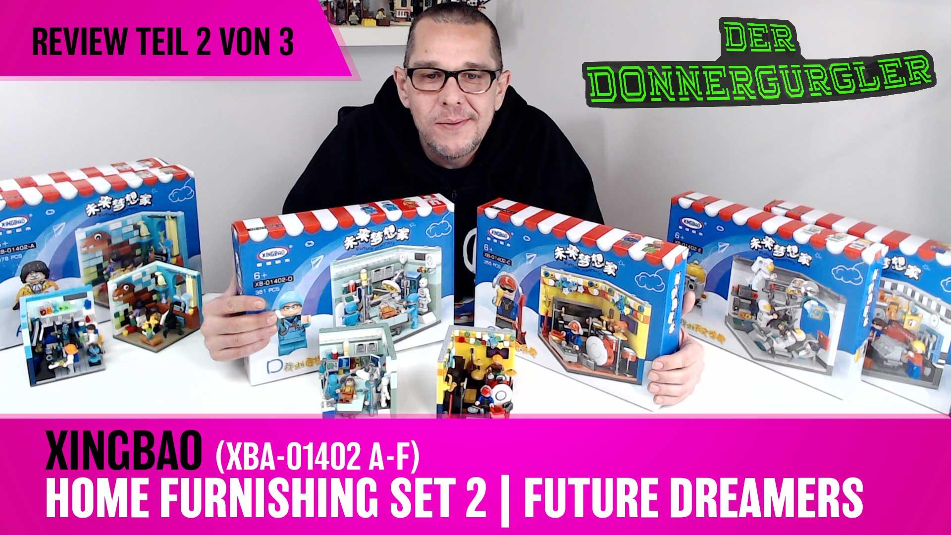 Xingbao Home Furnishing Set 2 - Future Dreamers Kompletset XBA-01402A-F Teil 2v3