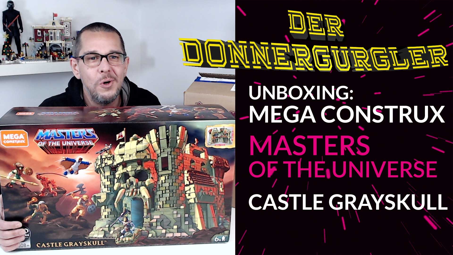 Review - Masters Of The Universe Castle Grayskull von Mega Construx