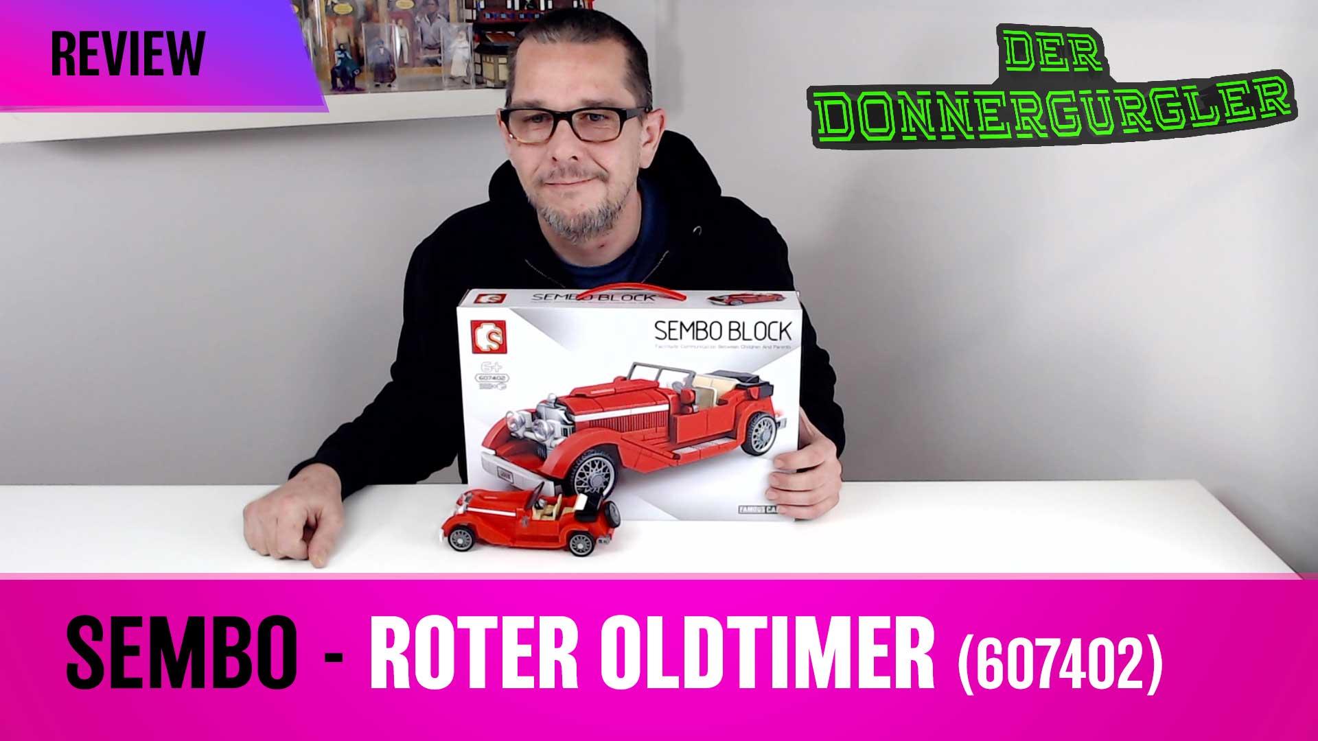 Sembo Set - Roter Oldtimer (607402)