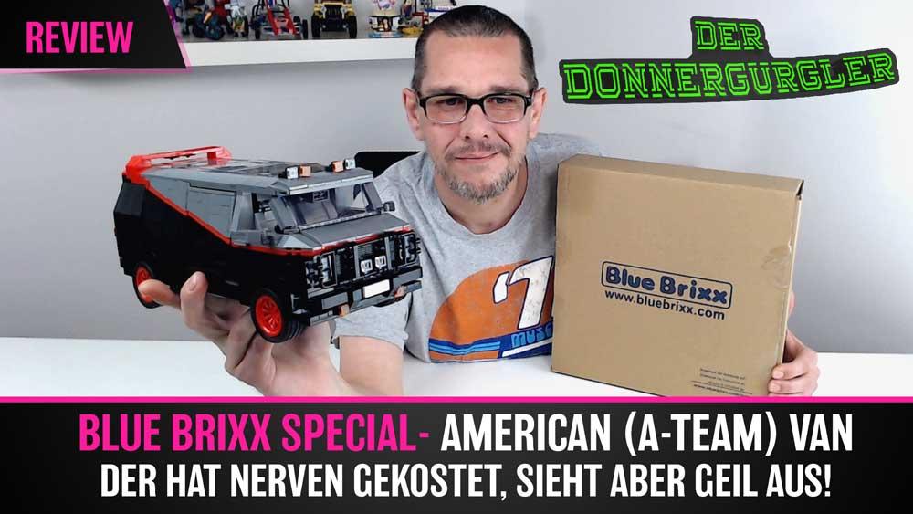 BlueBrixx - American (A-Team) Van - Der hat mich Nerven gekostet, sieht aber toll aus!