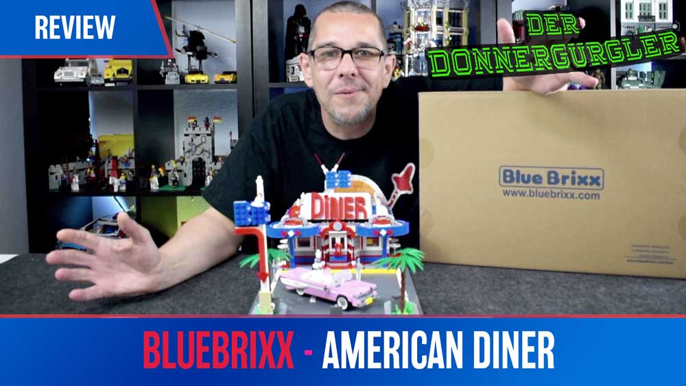 Bluebrixx Special American Diner - 103289