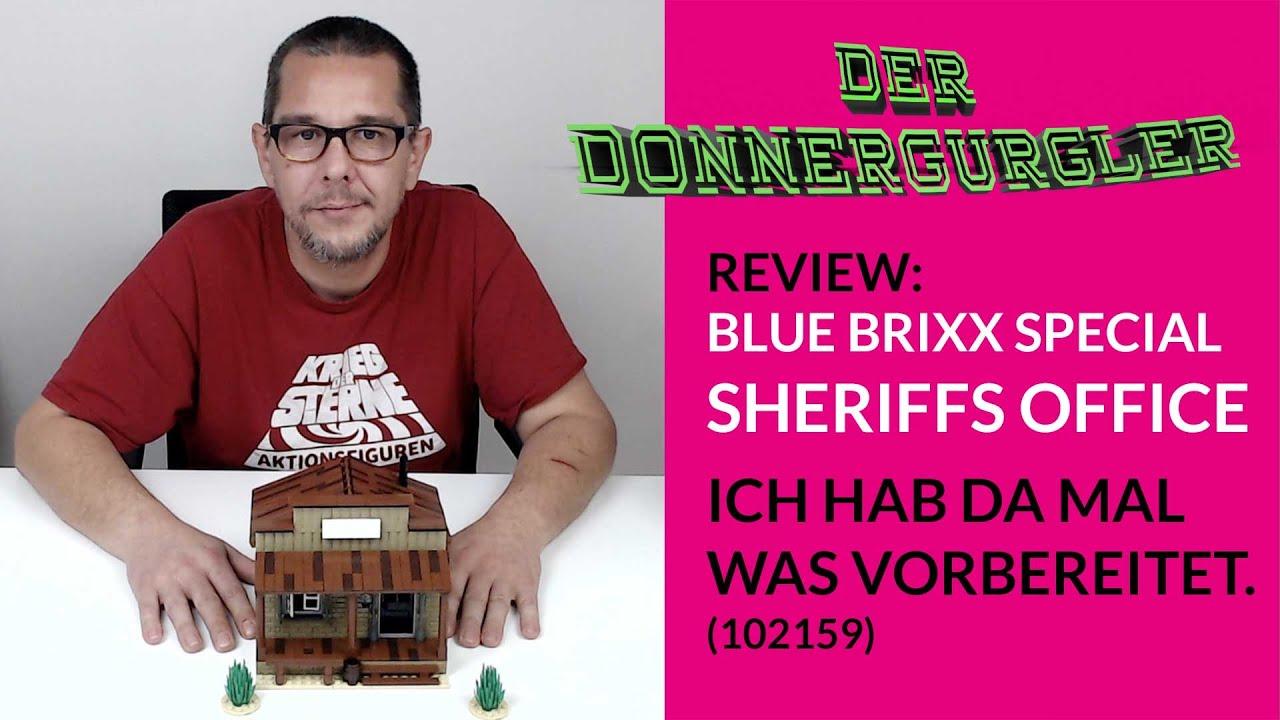 BlueBrixx-Special Sheriffs Office (102159) Review und etwas erweitert