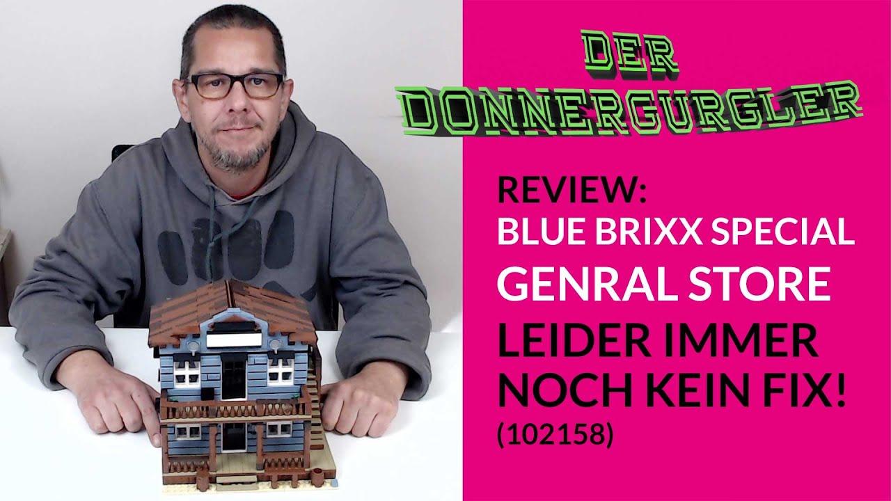 Blue Brixx-Special - General Store (102158) - Leider immer noch mit Fehlguss (Review)