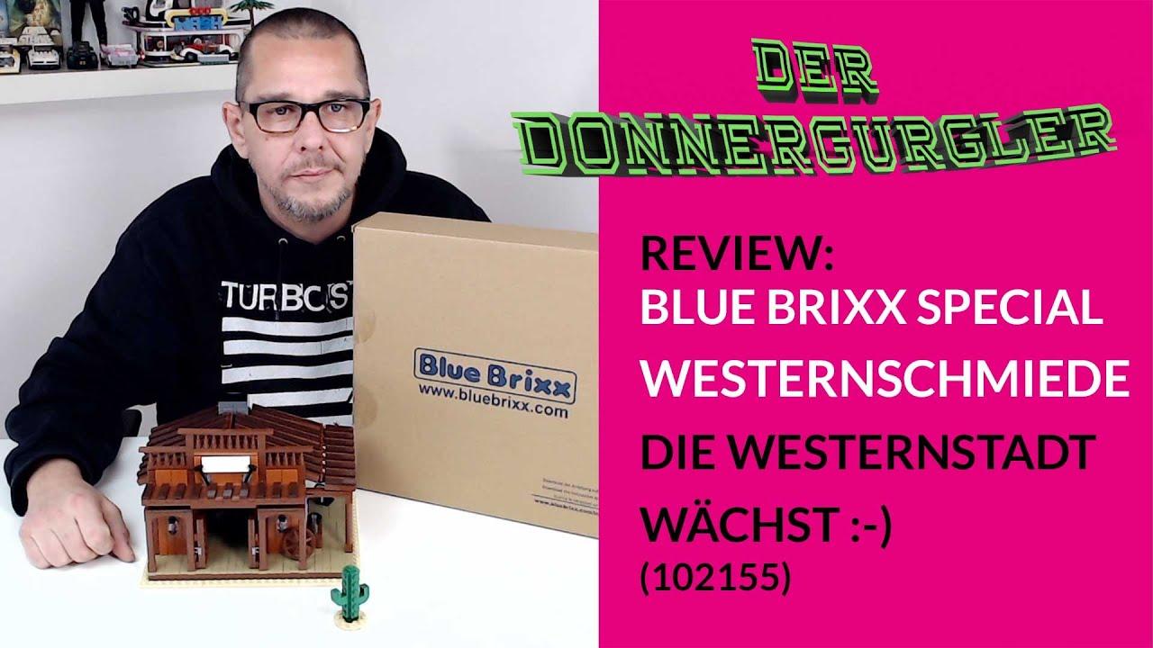 Bluebrixx Special Westernschmiede (102155) Meine Westernstadt wächst :-)