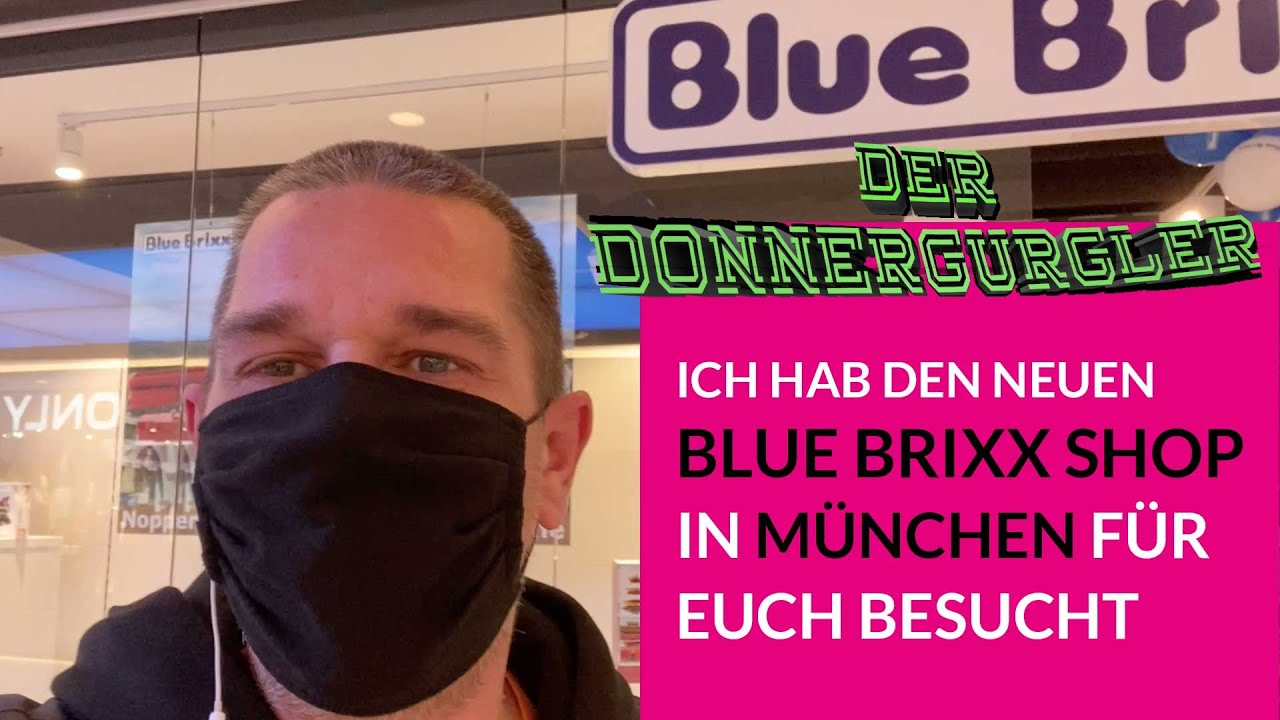 Ich war im Bluebrixx Store München (VLog)