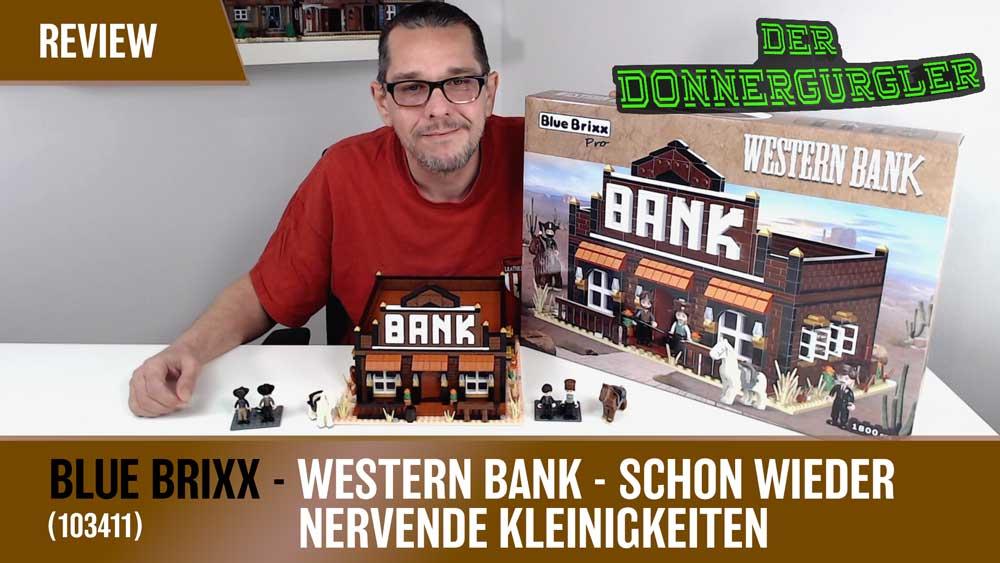 BlueBrixx Western Bank - Schon wieder Nervende Kleinigkeiten - 103411