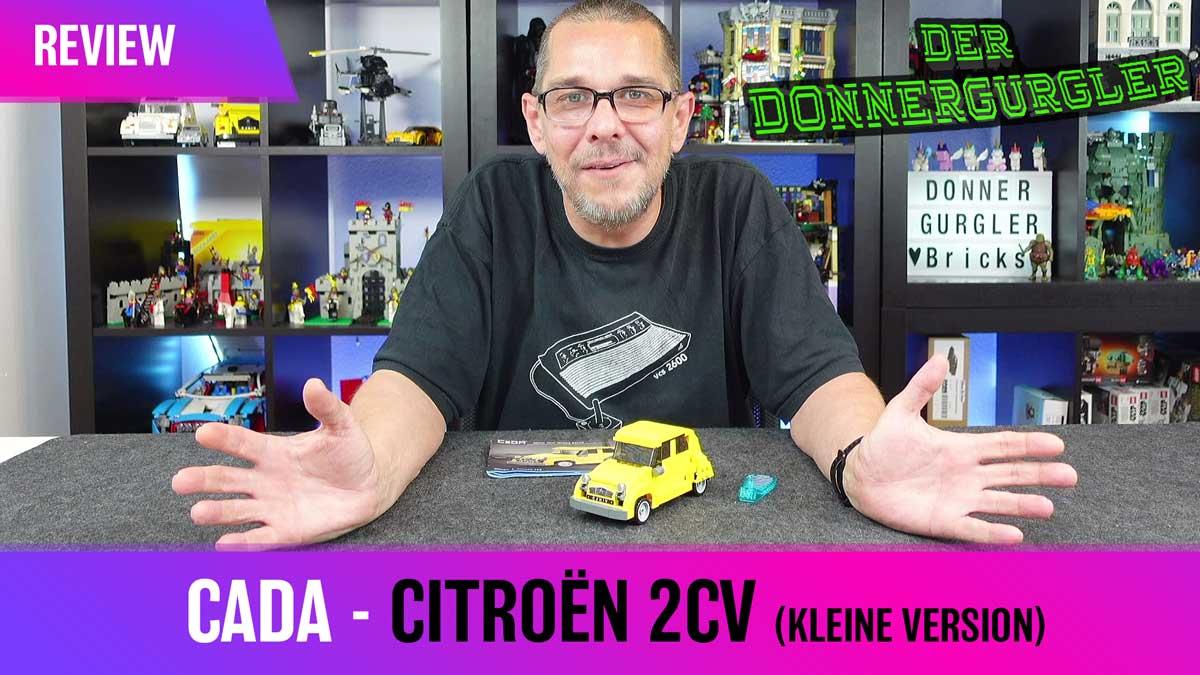 """CaDa- Citroën 2cv  """"Die Ente"""" in klein 1:24"""