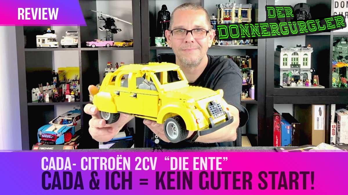 """CaDa- Citroën 2cv  """"Die Ente"""" / CaDa und ich haben keinen guter Start!"""