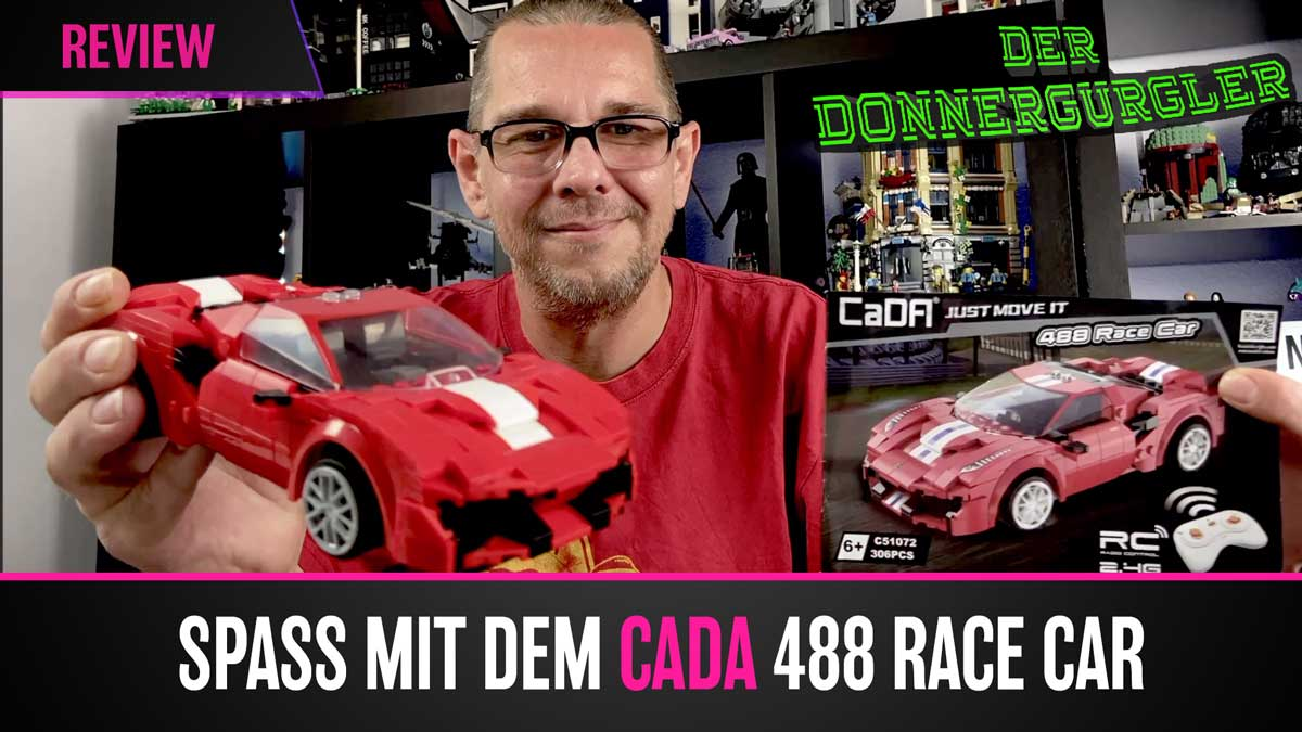 Spaß mit dem CaDa - 488 Rarce Car RC