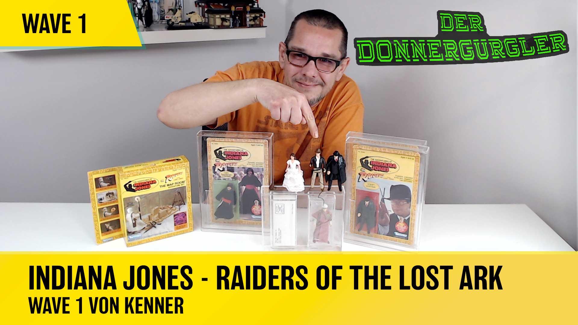 Indiana Jones  - Raiders of the Lost Ark  Wave 1 von KENNER aus dem Jahr 1981