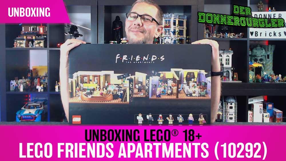 Unboxing LEGO® Lego Friends Apartments (10292)