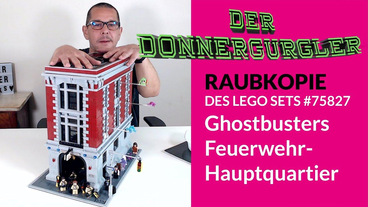Meine erste Raubkopie - Ghostbusters Feuerwehr-Hauptquartier (75827)