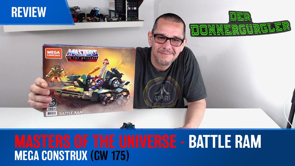 Masters of the Universe - Battle Ram (GW175) von Mega Construx Mattel