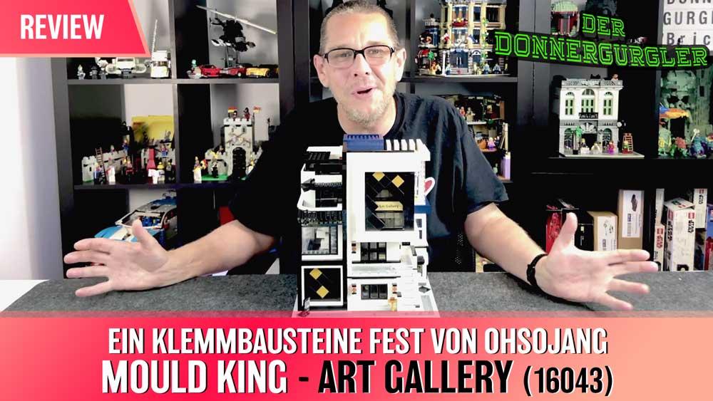 Mould King ART GALLERY - Ein Klemmbausteine Fest von Ohsojang