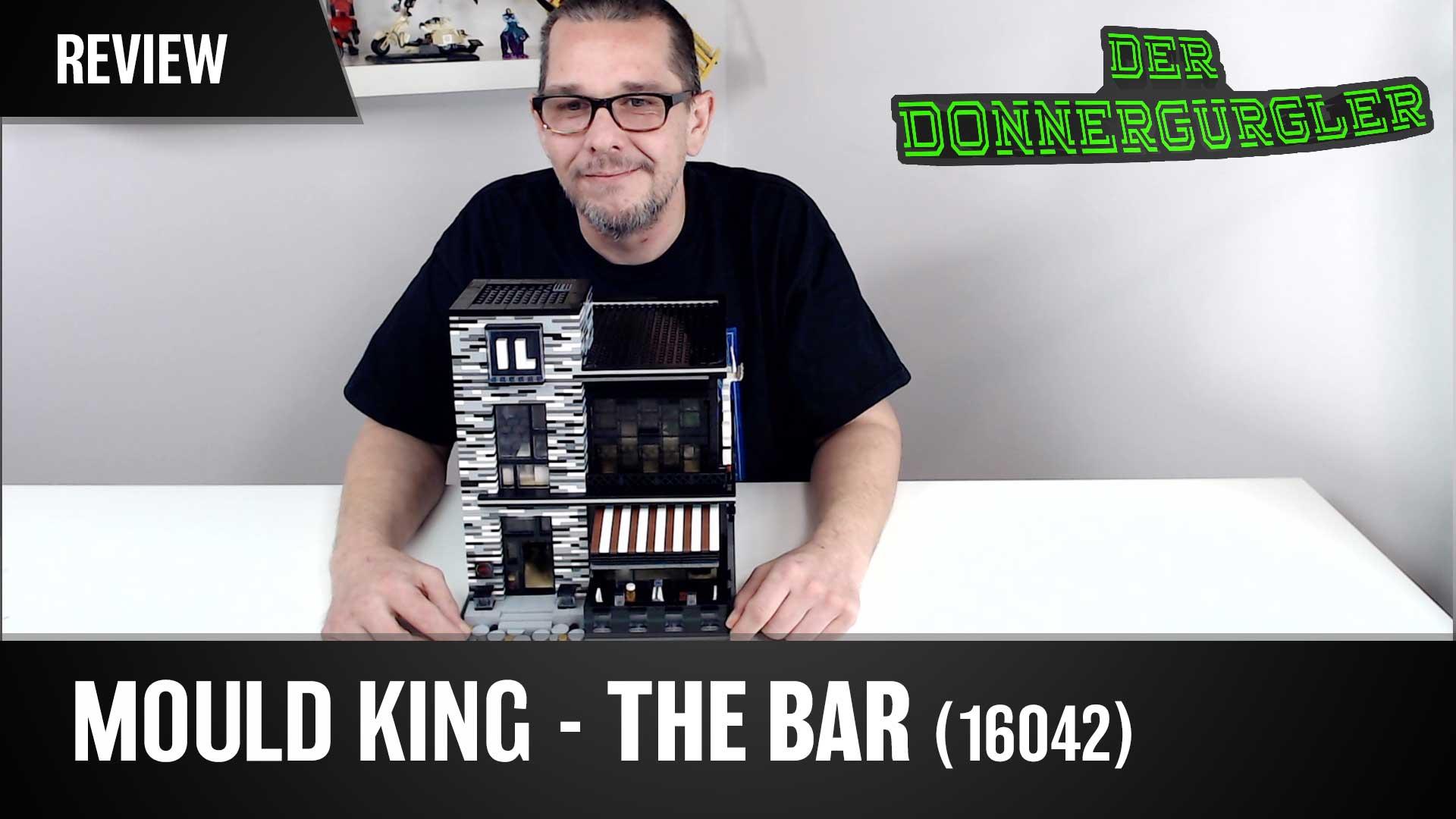 Mould King - THE BAR aus der Novatown Reihe (16042) mit LED Beleuchtung