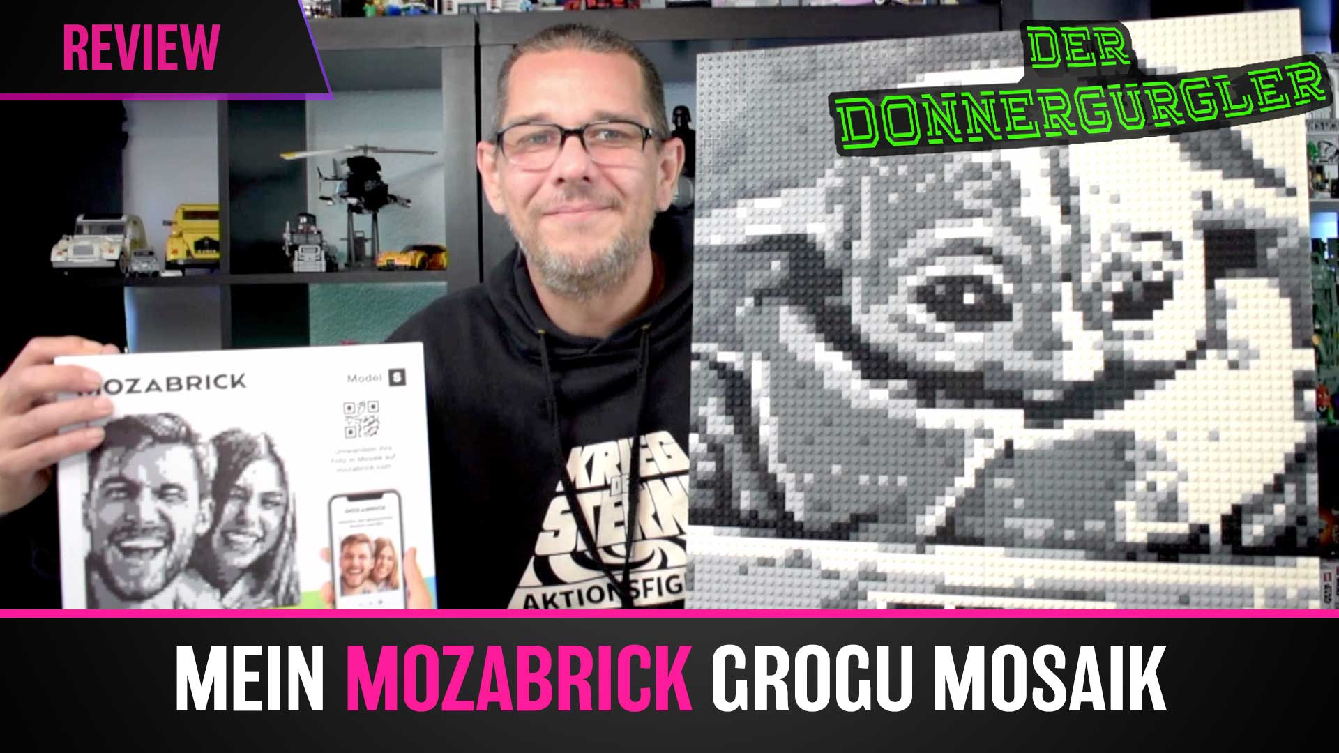 Mozabrick Mosaik Set-S Review - Mein Grogu Mosaik