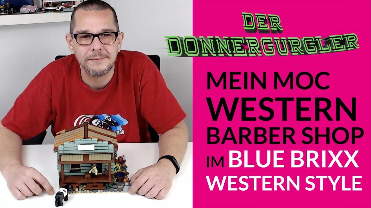 Mein Western Barbershop MOC im Bluebrixx Western Style