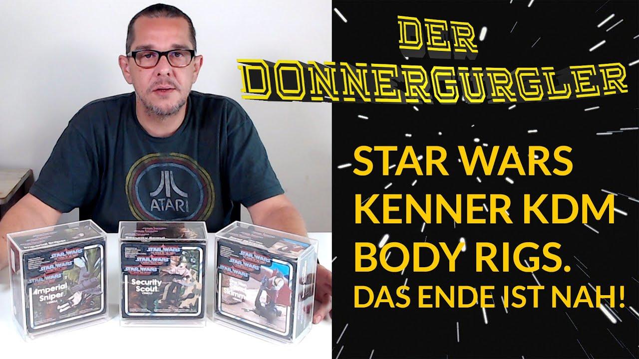 Star Wars  Kraft der Macht Body Rigs von Kenner